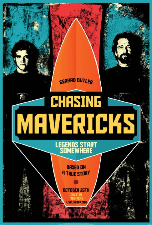 Chasing Mavericks / Господари на вълните