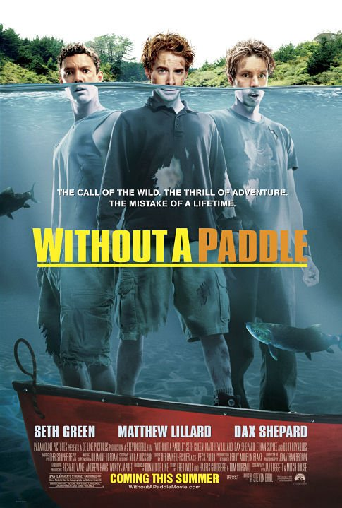Without a Paddle / Без гребло